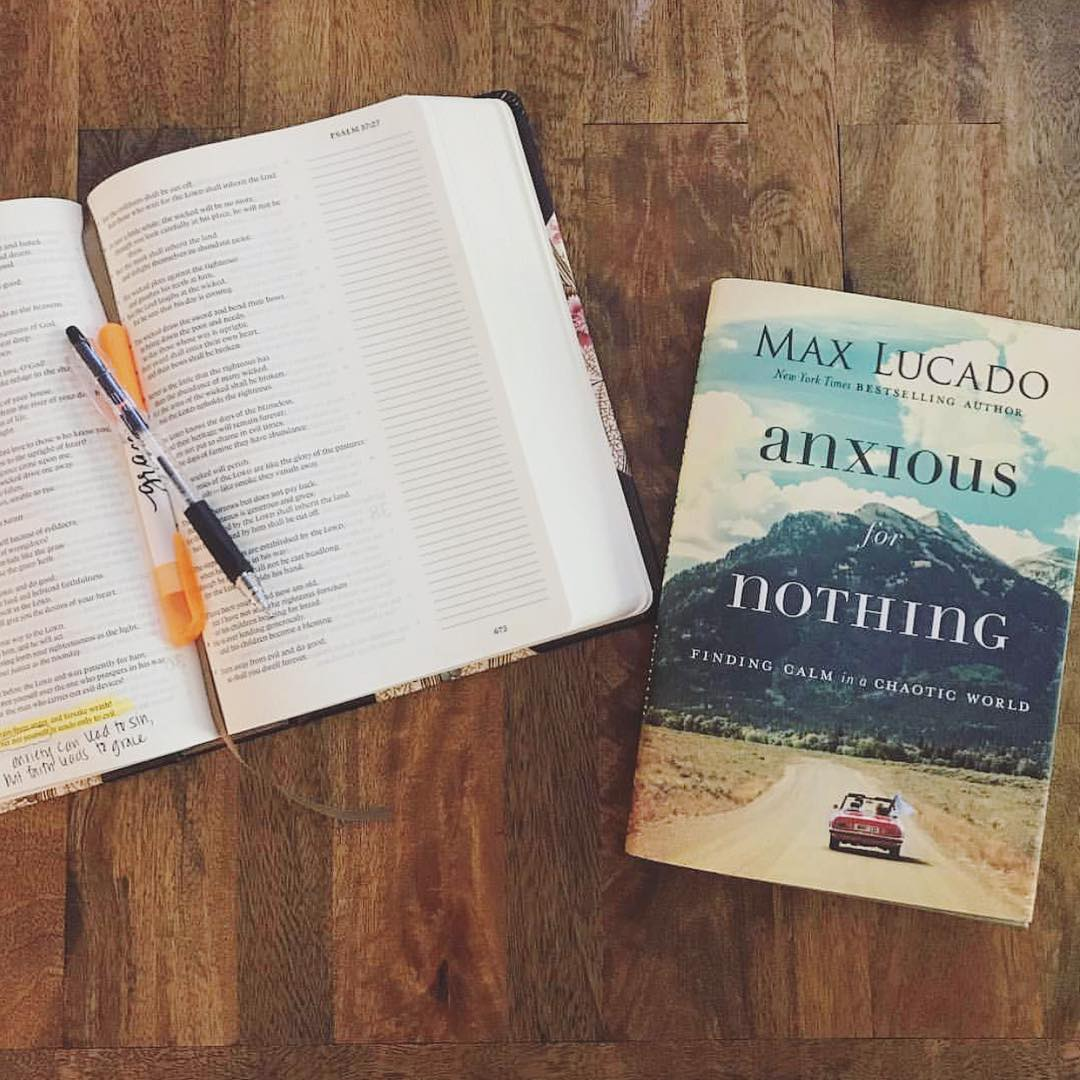 Anxious For Nothing [Book Review]