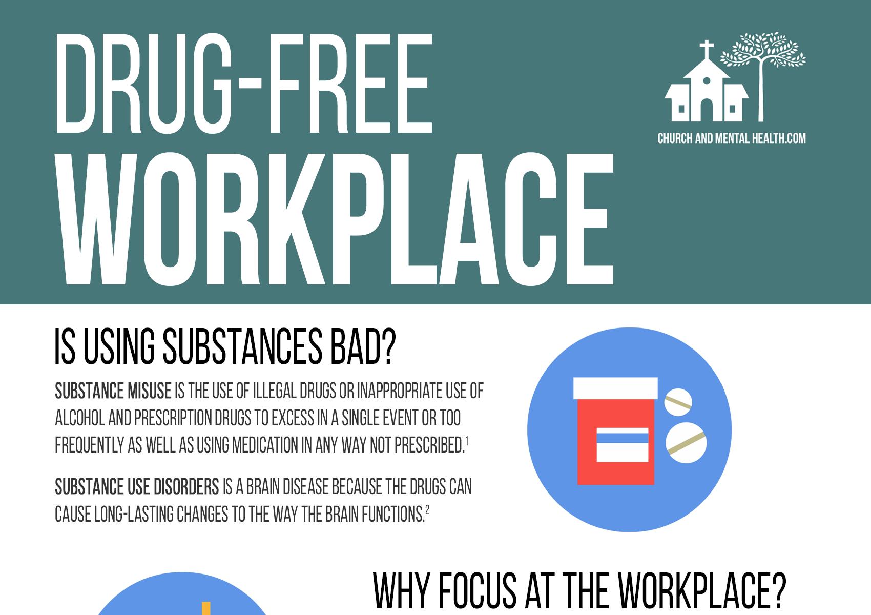 Drug Free Workplace Handout [Free Resource]