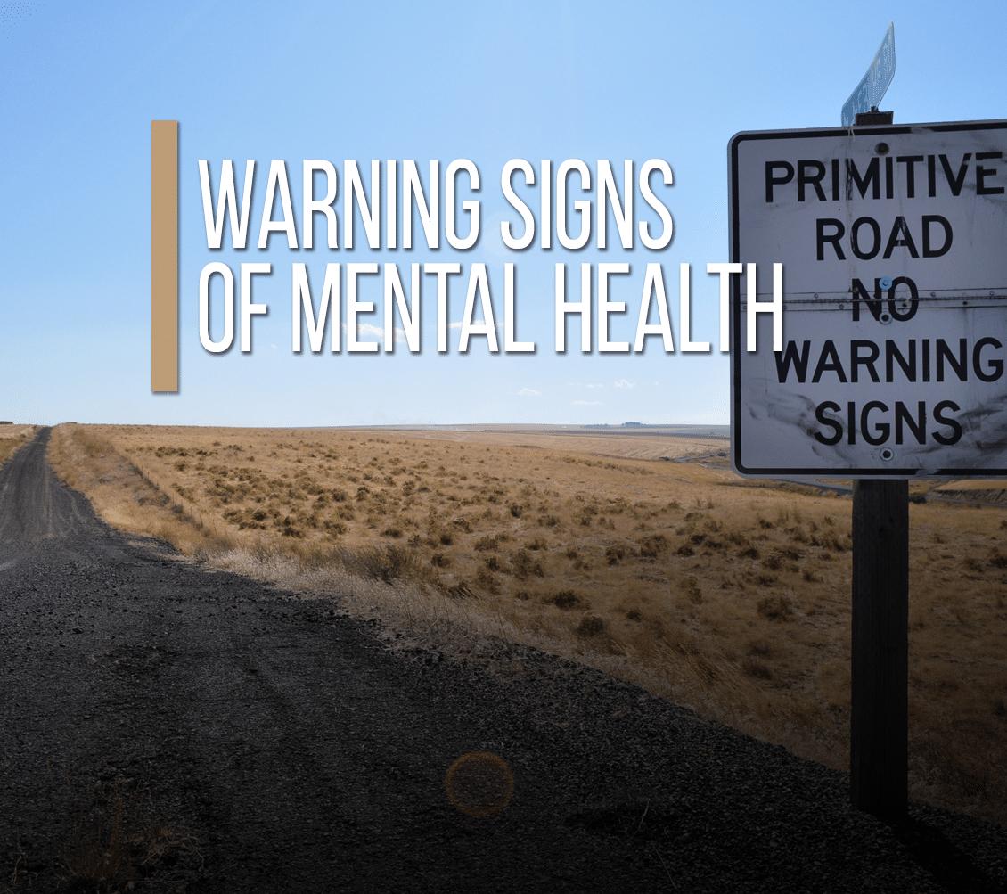 Warning Signs of Mental Health [Video]