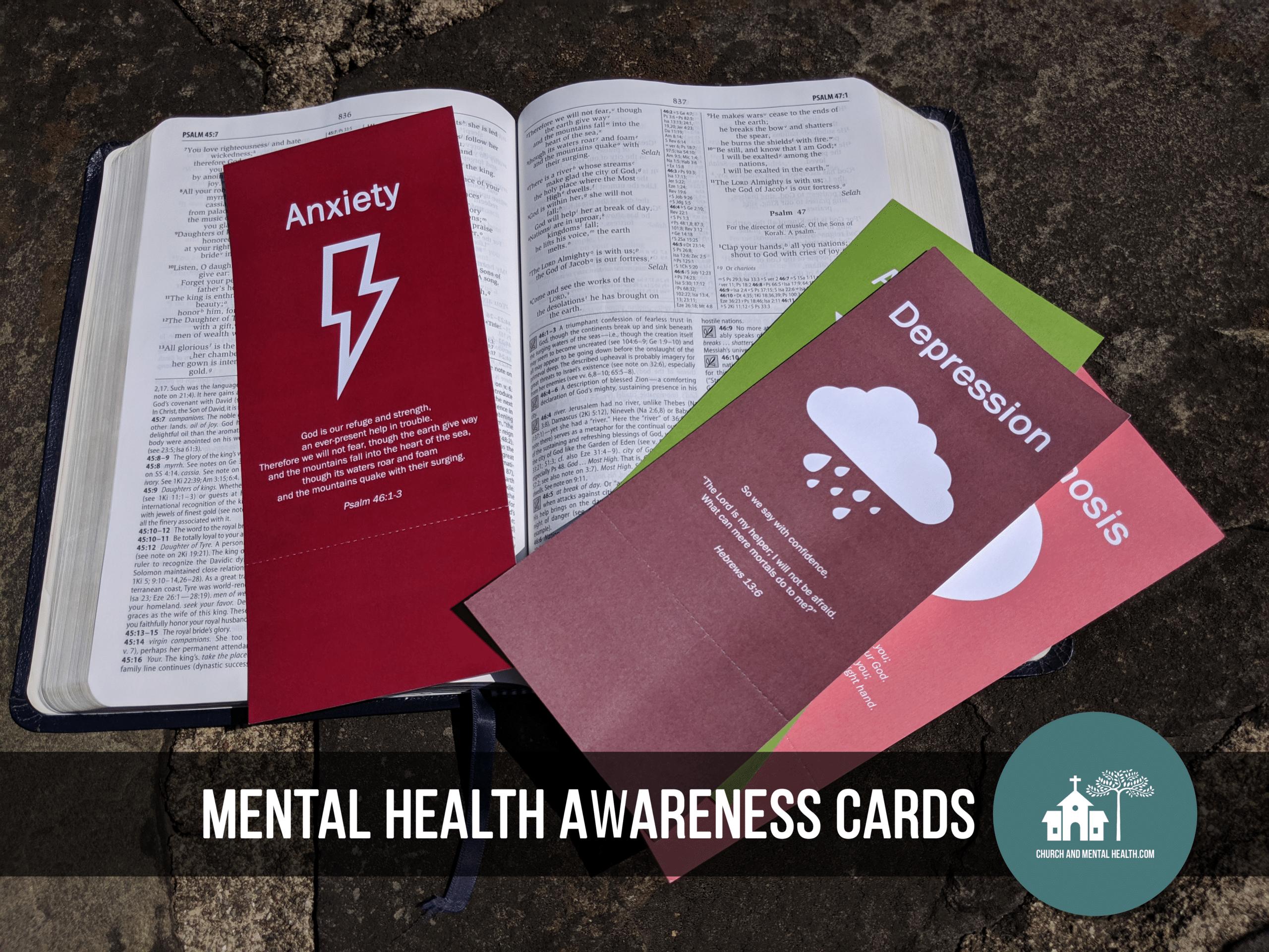 Church Mental Health Awareness Cards