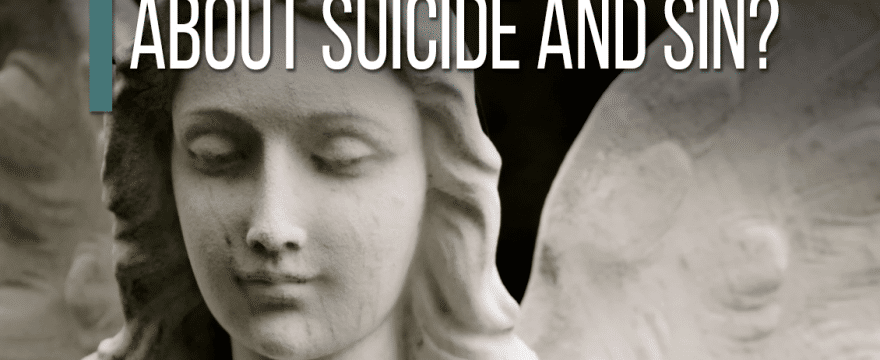 How Can Pastors Talk About Suicide and Sin?