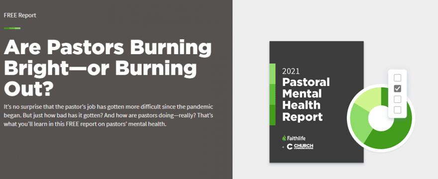 2021 Pastoral Mental Health Report