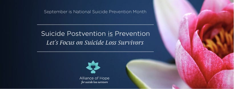 Support For Those Who Lost Someone To Suicide